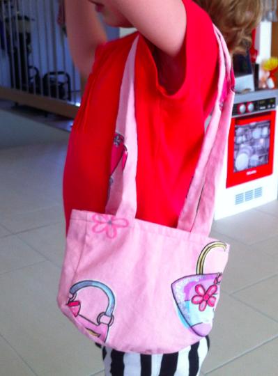 Tragefoto Kindertasche