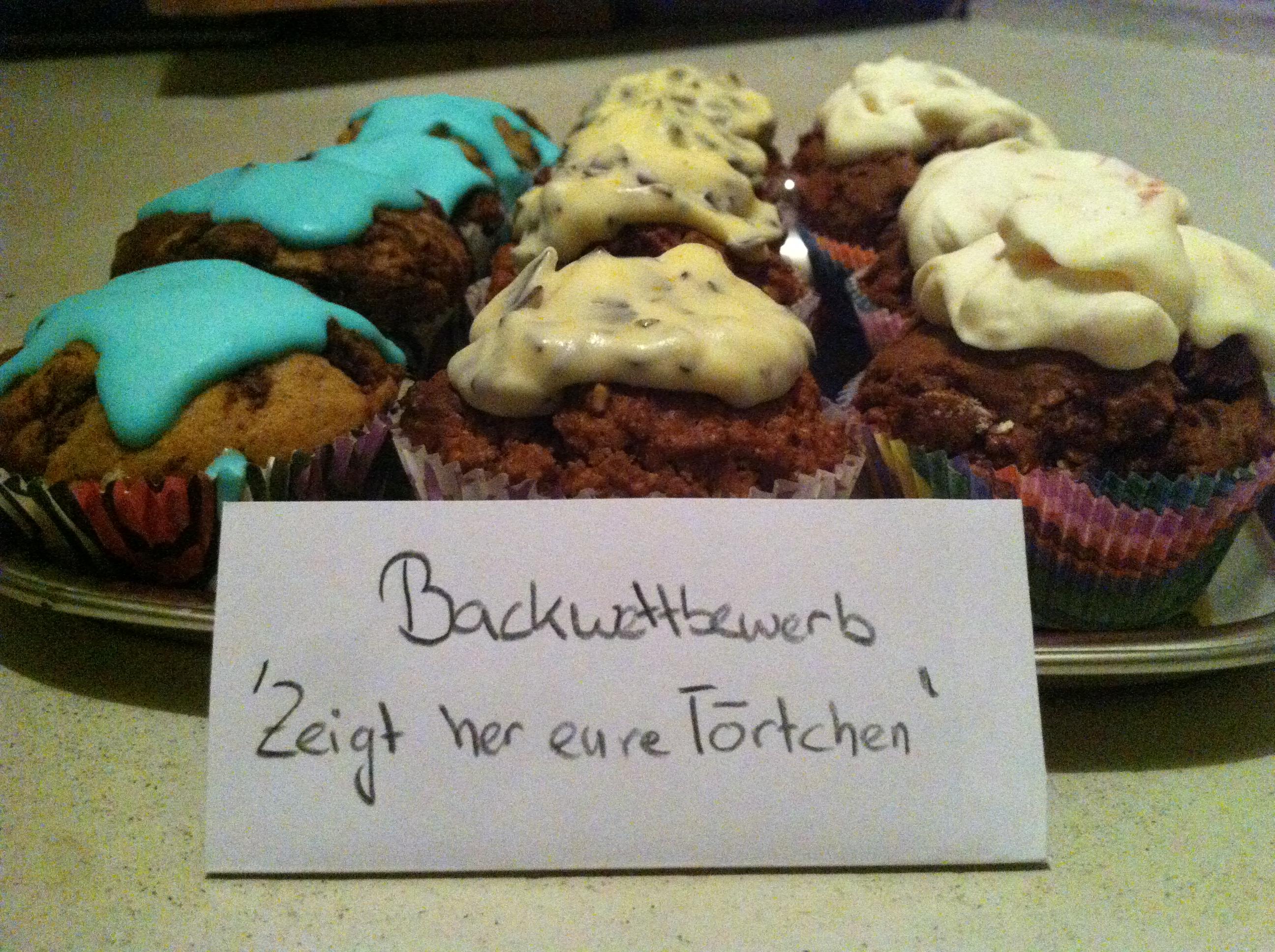 Backwettbewerb Cupcakes