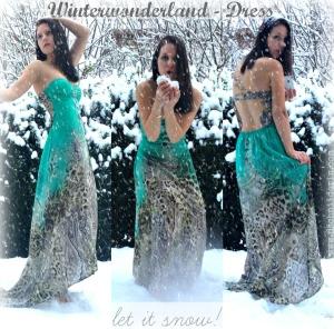 Snow-Dress silk