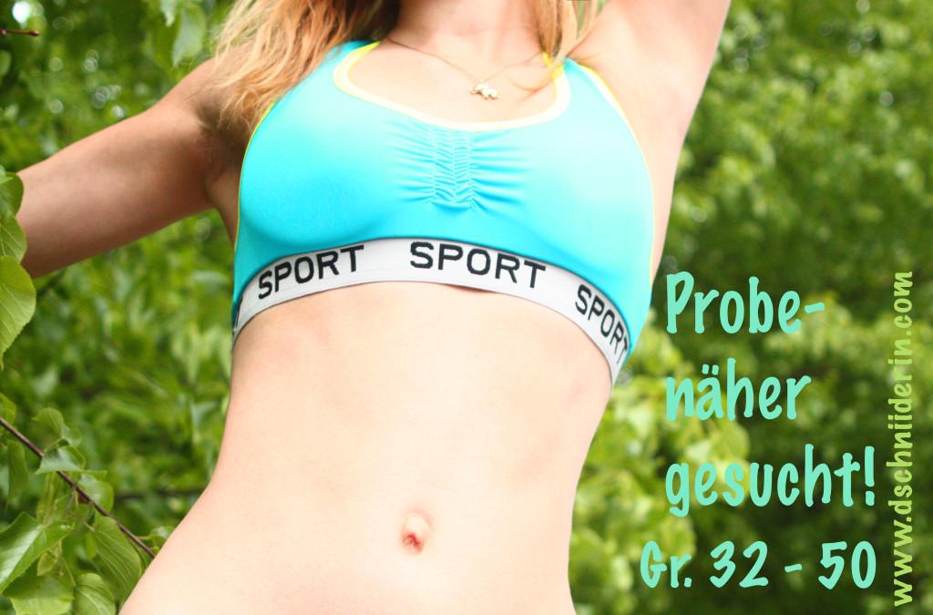 Probenäher gesucht - Sport-BH - Sewera Fashion