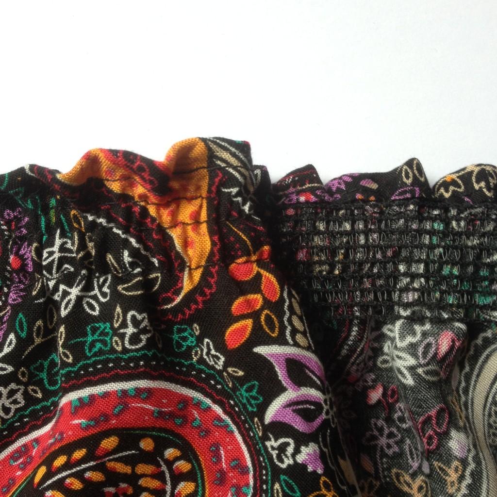 how to ruffle fabric easily