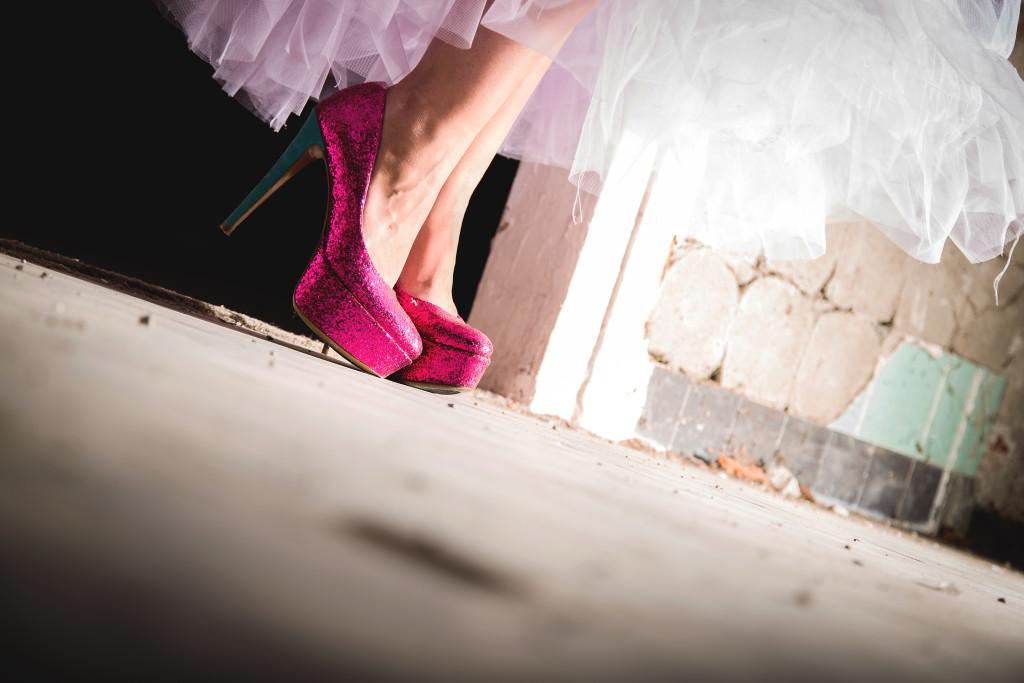 sexy high-heels diamond heels sparkly pink
