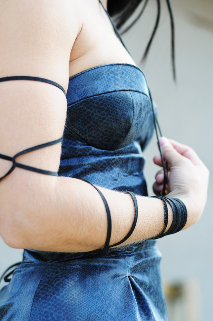 CandySugarDress leather