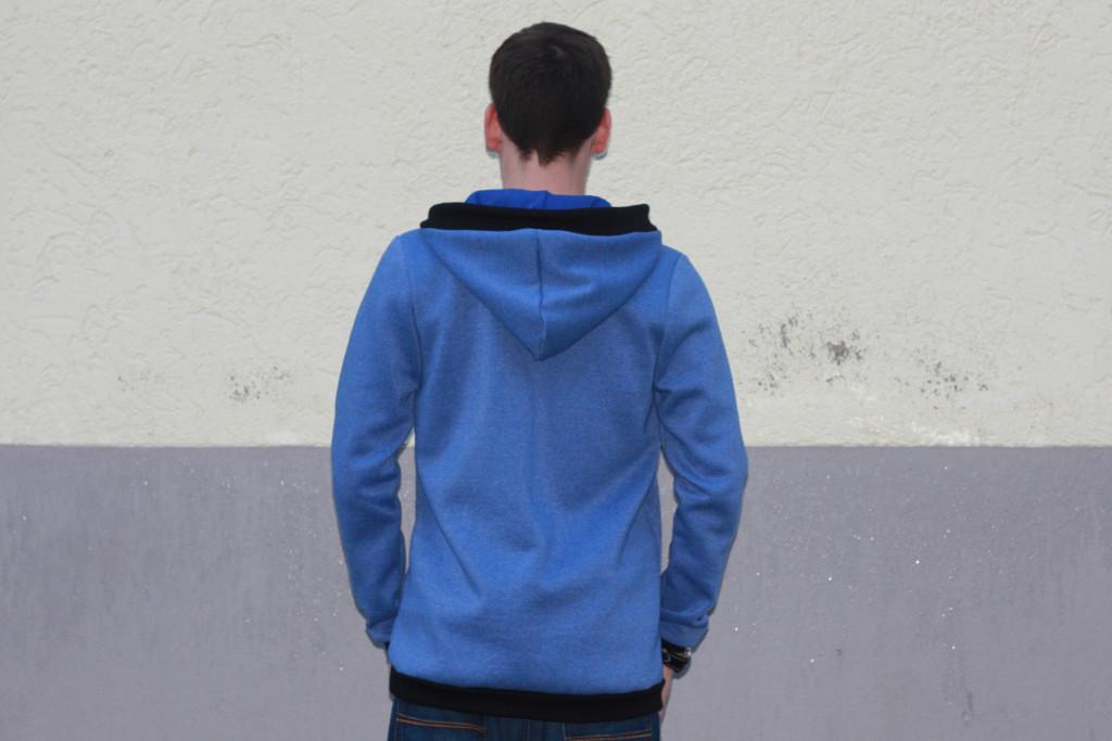 hoodie for men blue