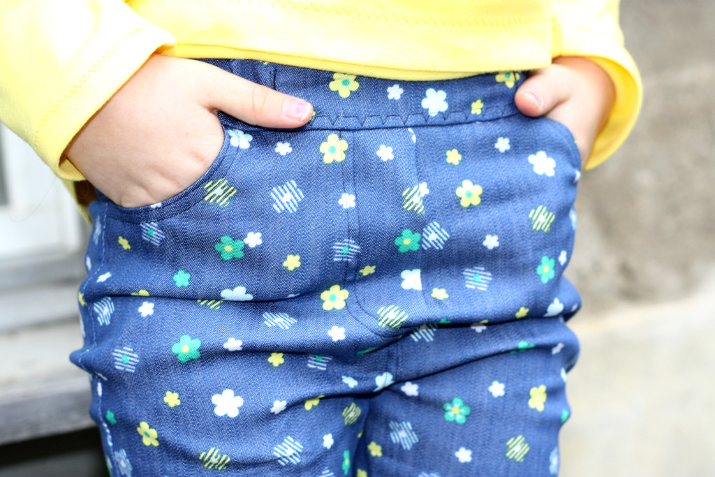 how to sew a jeans for kids