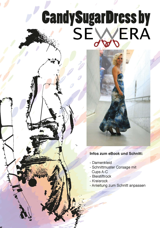 CandySugarDress Schnittmuster & Anleitung by Sewera - Sewera Fashion