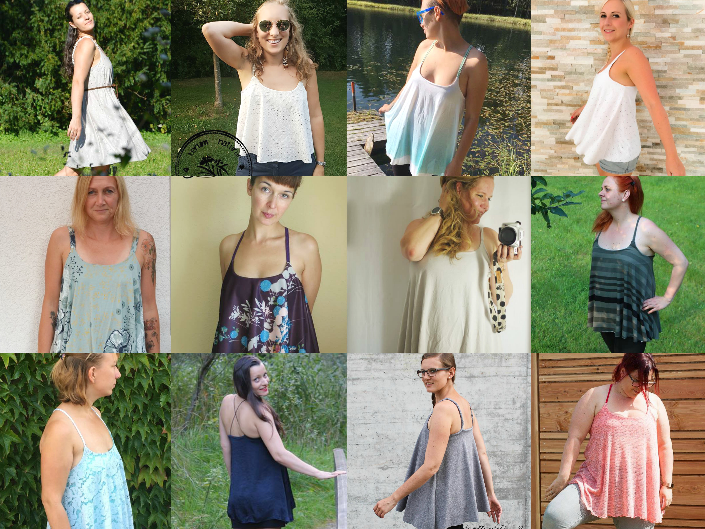 Flare Top Schnittmuster & Anleitung by Sewera - Sewera Fashion